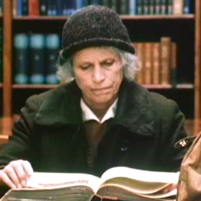 May Pihlgren läser en bok, Yle 1969