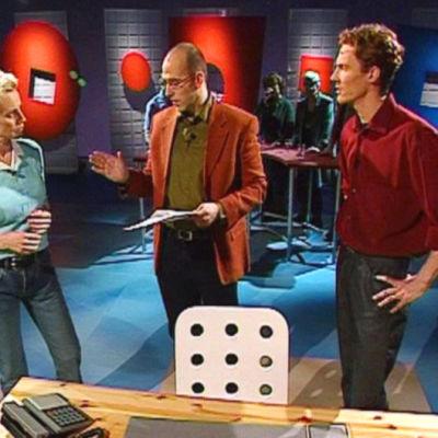 Ylva Ekblad, Johan Fagerudd, Kristoffer Möller i Relationskliniken, Yle 2002