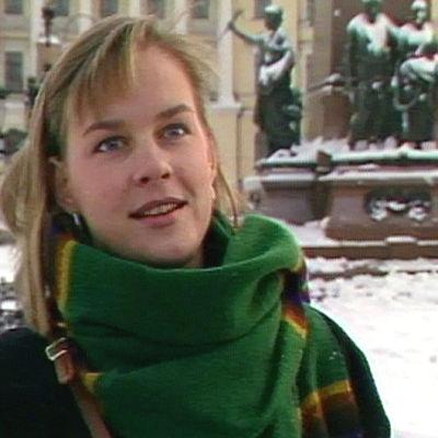 En ung kvinna