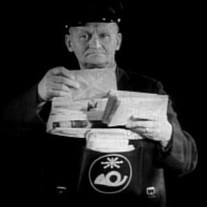 Postimies (1955).