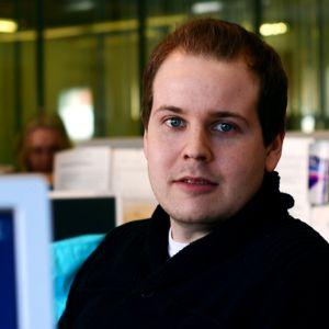 Carl-Magnus Långkvist är reporter på YLE Österbotten
