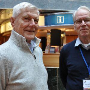 Hans Gögström, Karl-Erik Grönlund, seniorskeppet, radio vega