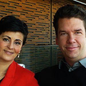 Angelika Klas ja Sebastian Fagerlund.