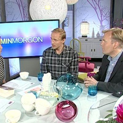 Robert Bergholm och Sampo Sarkola i Min Morgon