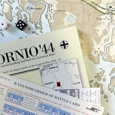 Tornio`44 lautapeli.
