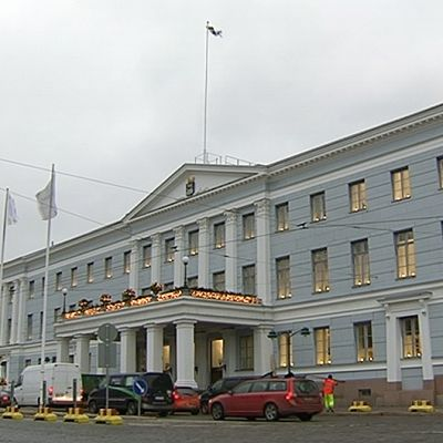 Helsingin kaupungintalo.