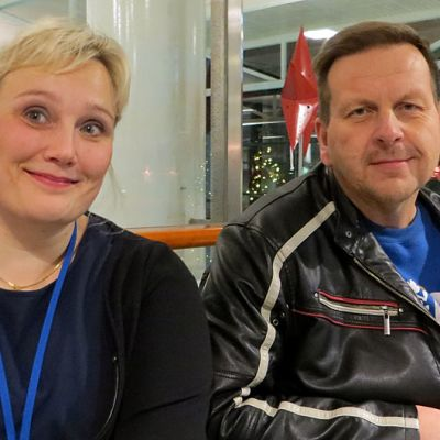 Lea Leminaho ja Pekka Karsikko