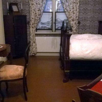 Huone, jossa Jean Sibelius syntyi