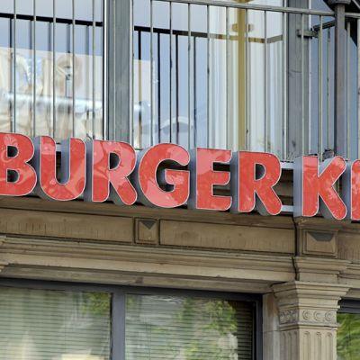 Burger King -myymälä Frankfurtissa.