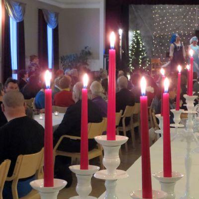 Vähävaraisten joulutapahtuma Tornion Järjestötalolla