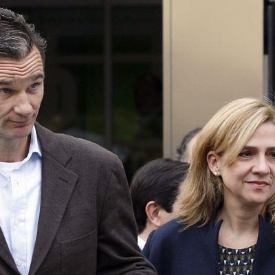 Iñaki Urdangarin ja prinsessa Cristina