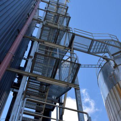 Bioreaktorilaitos ja varastosiilo
