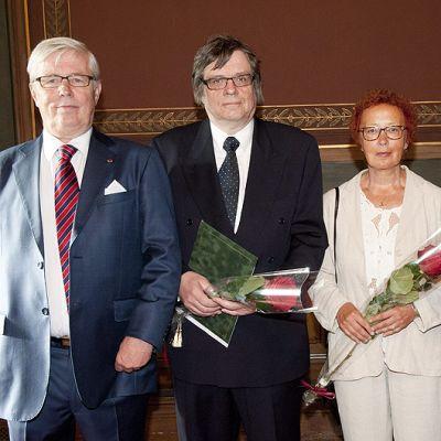 Janne Virkkunen, Timo Kanerva, Liisa Tukkimäki ja Hannu Karpo.