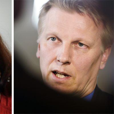 Pirkko Ruohonen-Lerner ja Kimmo Tiilikainen.