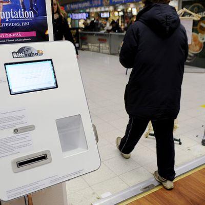 Bitcoin -automaatti.