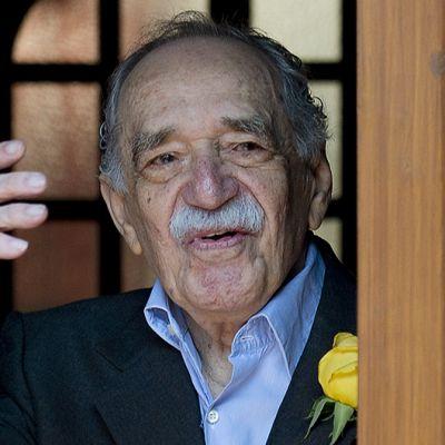 Gabriel García Márquez 87. syntymäpäivänään Méxicossa.