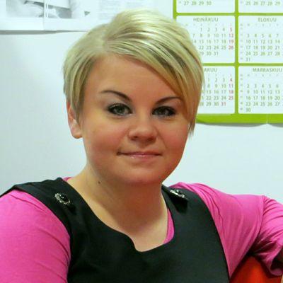 Vasemmistoliiton Lapin piirin toiminnanjohtaja Kati Tervo