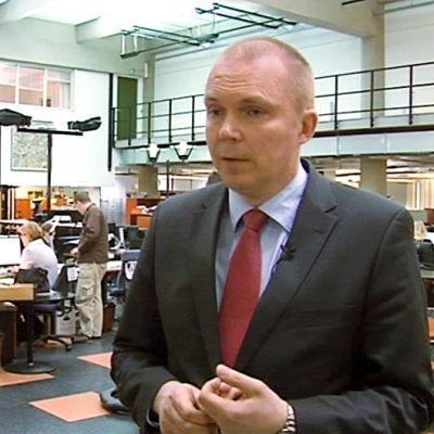 Kalevan päätoimittaja Markku Mantila.