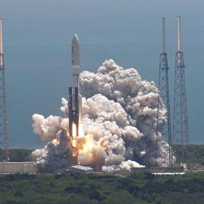 Nasan Juno-luotain laukaistaan Floridan avaruuskeskuksesta.