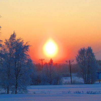 Talvipäivän maisema