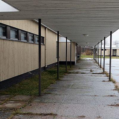Maulan koulun katos
