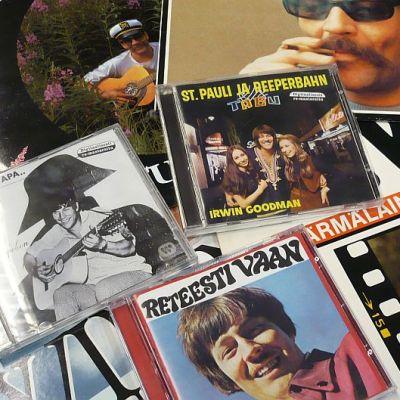 Irwin Goodmanin cd- ja lp-levyjä