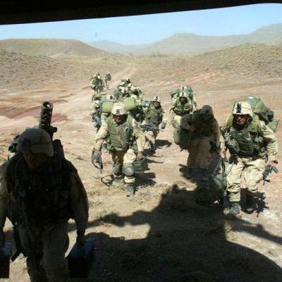 Jäähyväiset Afganistanille