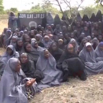 Boko Haramin sieppaamia tyttöjä.