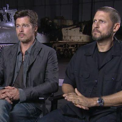 Brad Pitt ja David Ayer.