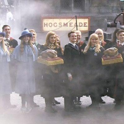Harry Potter -teemapuiston avajaiset Osakassa.