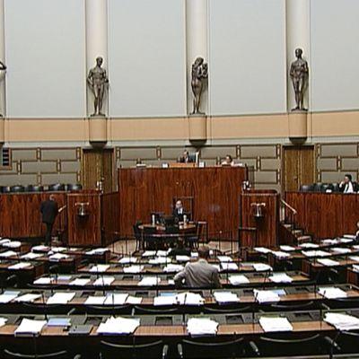 Kansanedustajat keskustelivat energiatodistuksia koskevasta kansalaisaloitteesta 10. kesäkuuta.