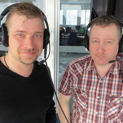Markus Savolainen ja Tapio Jankkila