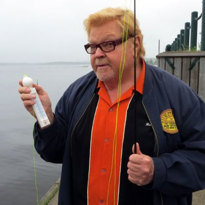 Jussi Raittinen Kemin Sisäsatamassa