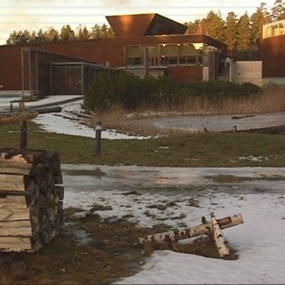 Lusto - Suomen Metsämuseo on iso laitos.