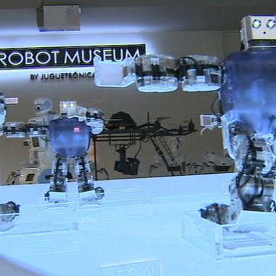 Robotteja madridilaisessa robottimuseossa.