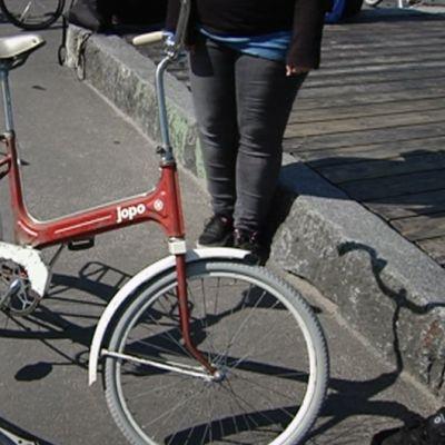 Vanha Jopo-pyörä.