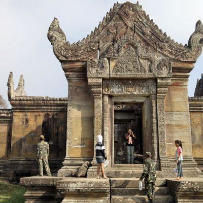 Preah Vihearin museotemppeli Thaimaassa.