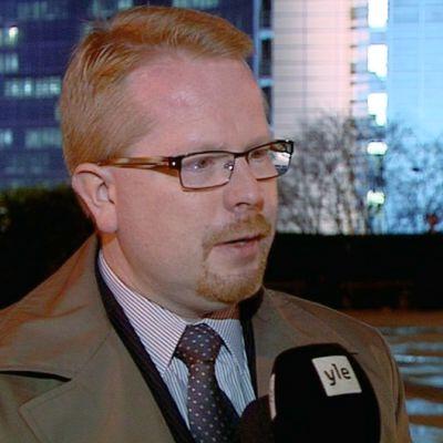 EU:n tiedusteluanalyysikeskuksen johtaja Ilkka Salmi.