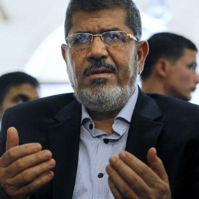Egyptin syrjäytetty presidentti Mohamed Mursi.