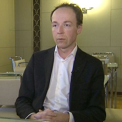 Perussuomalaisten kansanedustaja Jussi Halla-aho.