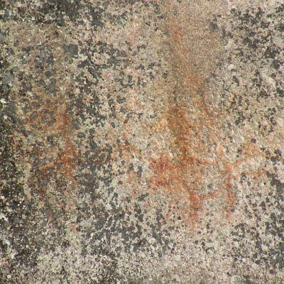 Kalliomaalauksia Verlassa