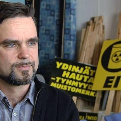 Greenpeacen viestintäpäällikkö Juha Aromaa.