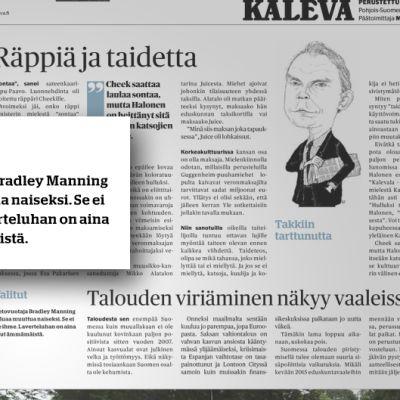 Kuva Kalevan verkkolehden sivuilta.