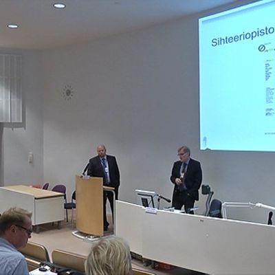 Keskusrikospoliisin tiedotustilaisuus Tampereella
