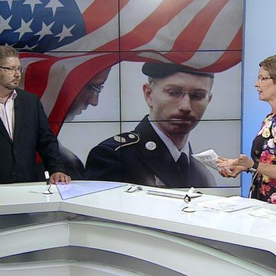 Helsingin yliopiston kansainvälisen politiikan professori Heikki Patomäki tv-uutisten vieraana.