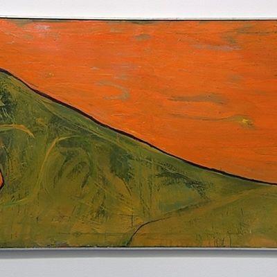Leena Luostarisen Sunrise - Tiger -maalaus.
