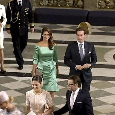 Madeleine ja Chris O'Neill ja muuta Ruotsin hovia.