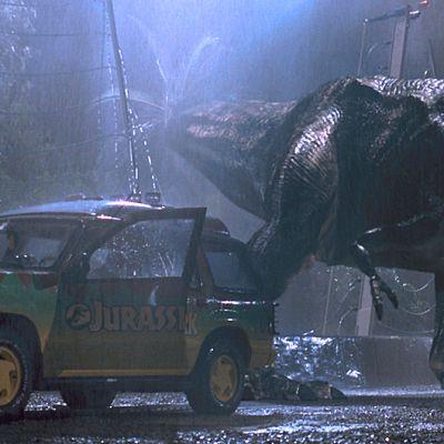 Kuva Jurassic Park 3D -elokuvasta.