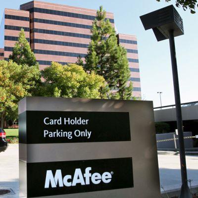 Tietoturvayhtiö McAfeen pääkonttori Kalifornian Santa Clarassa.