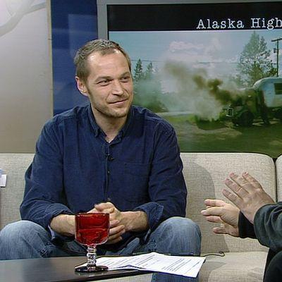 Elokuvaohjaaja Aleksi Salmenperä.